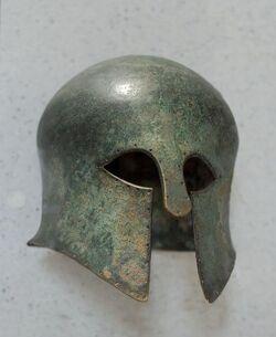 Bronzehelm