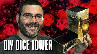 DIY D&D Dice Tower Geek & Sundry Vlogs
