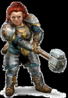 NEW TO DD Races Dwarf
