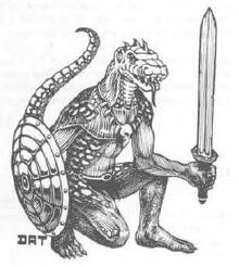 Lizard Man (D&D)