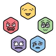 Michtim emotion circle