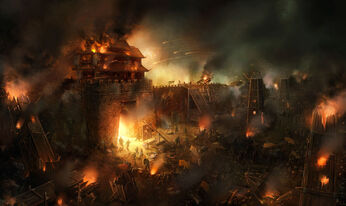 Siege warfare by wanbao