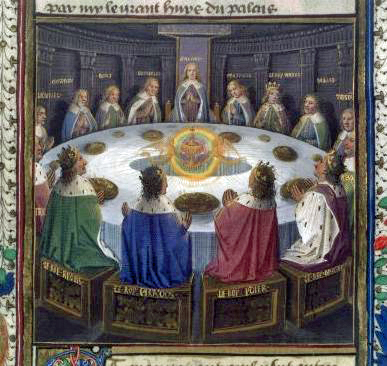File:Knights of the Round Table. Graal (15th century).jpg