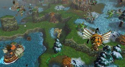 Second War as seen in Warcraft III