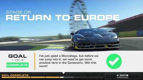 Lamborghini's Legacy, Stage 5 Race 1, Upgrades 3232122