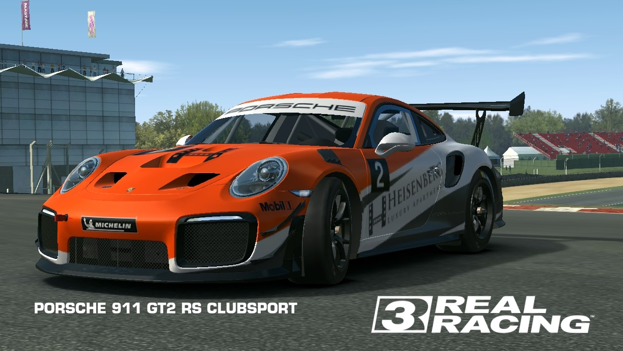 Porsche 911 Gt2 Rs Clubsport Real Racing 3 Wiki Fandom