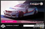 Series Race Day BMW M4 GT4