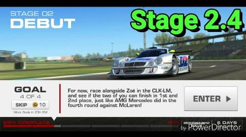 Silver Tourer Event; Stage 2