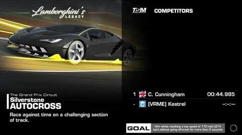 Lamborghini's Legacy, Stage 2 Race 3, Upgrades 3232122