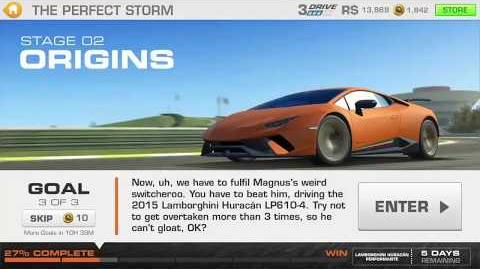 The Perfect Storm, Stage 2 Race 3 (7 upgrades, 1111111)
