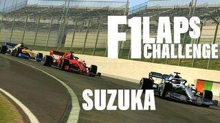 2019 Formula 1 Suzuka Laps Challenge (Top 3 Options)