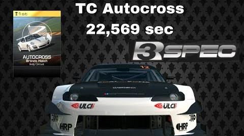TC Silvia R3 Spec Autocross 22,569 sec