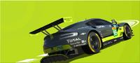Series GTE-Pro- Aston Martin and Porsche