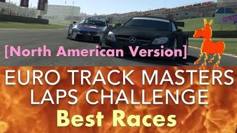Real Racing 3 RR3 Euro Track Masters Laps Challenge North American version
