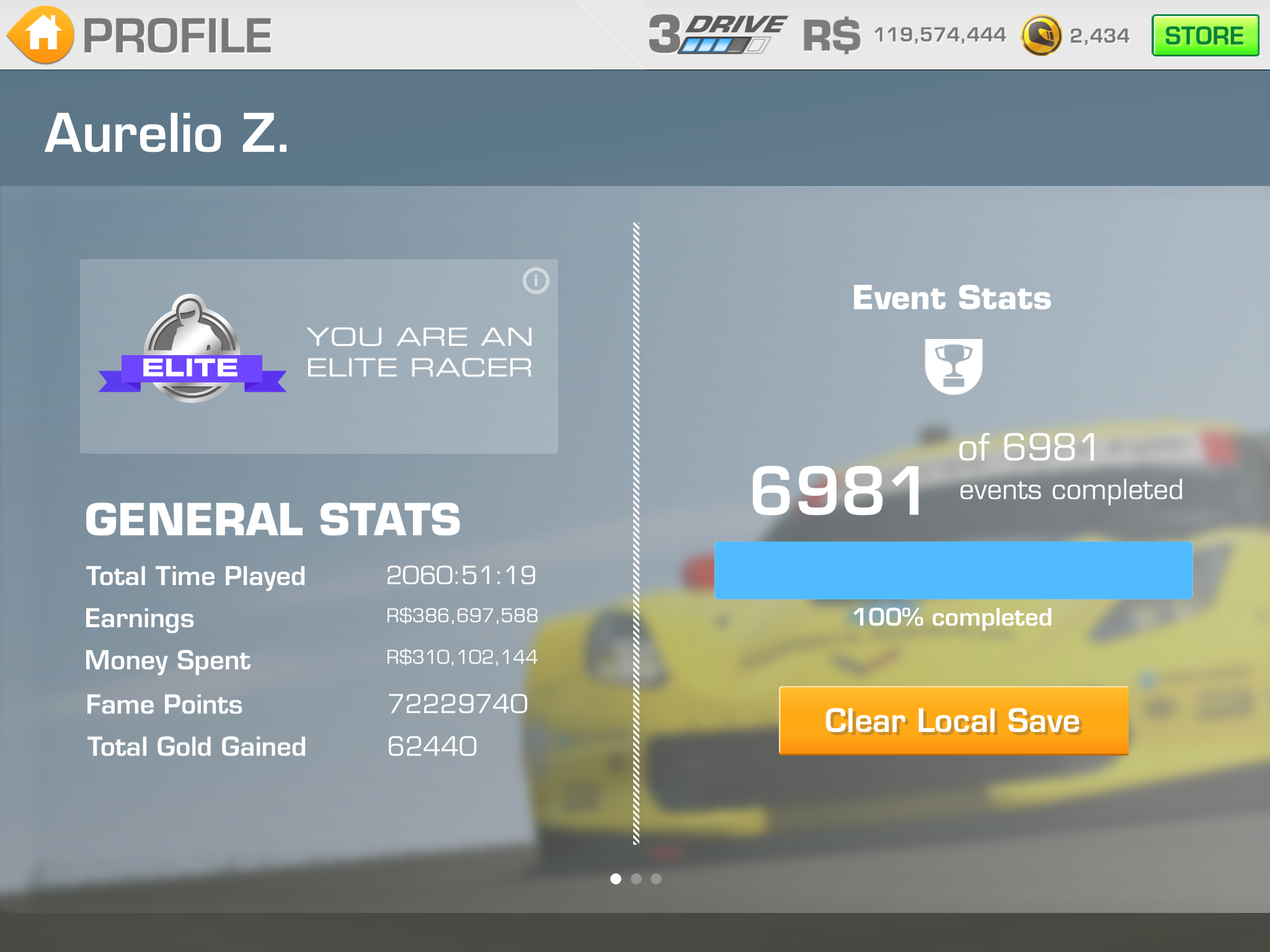 The 100% club   | Real Racing 3 Wiki | FANDOM powered by Wikia