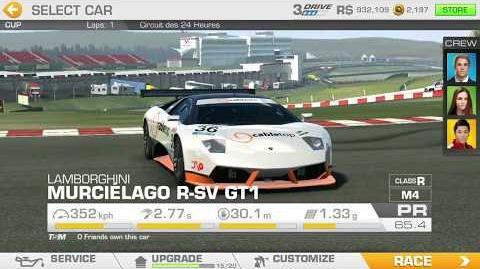 Lamborghini's Legacy, Stage 5 Race 2, using Lamborghini Murcielago R-SV GT1