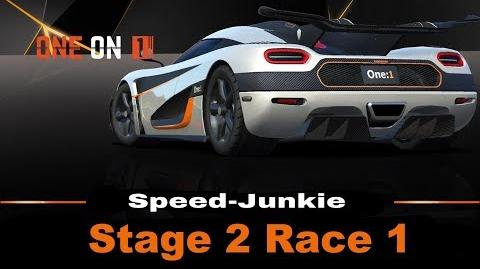 ONE on 1 Stage 2 Race 1