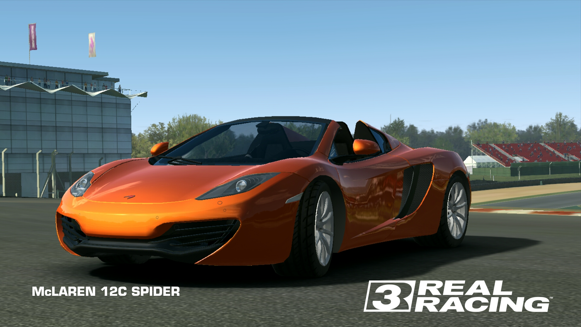 McLAREN 12C SPIDER | Real Racing 3 Wiki | FANDOM powered by Wikia
