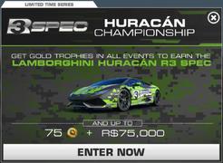 Series Huracán R3 Spec Championship