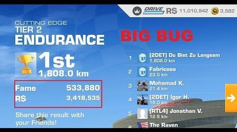1001 Laps on RR3 Endurance Mio. R$