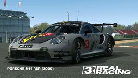 PORSCHE 911 RSR (2020) Patrik Loeb livery