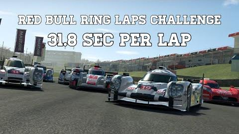 Real Racing 3 Red Bull Ring Laps Challenge 31.8 Sec