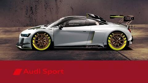 The New Audi R8 LMS GT2 customer racing Audi Sport