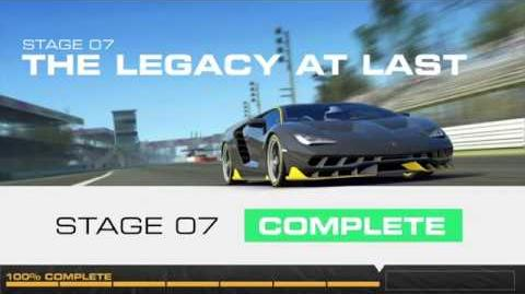 Lamborghini's Legacy, Stage 7 Race 5, Upgrades 3232122