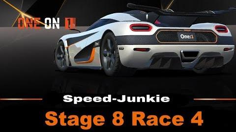 ONE on 1 Stage 8 Race 4 only R$ Upgrades