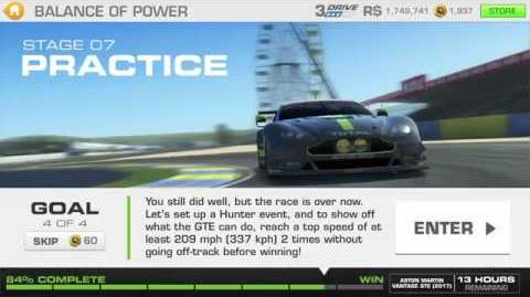 Balance of Power, Stage 7 Race 4, 3331311 Upgrades