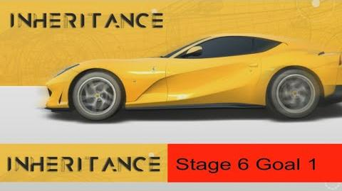 Real Racing 3 RR3 - Inheritance - Stage 6 Goal 1 ( Upgrades = 1131111 )