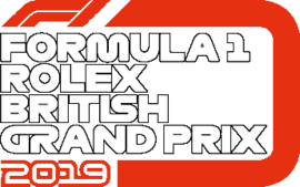 FORMULA 1 ROLEX BRITISH GRAND PRIX 2019 flag
