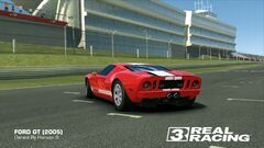 Ford GT (Remastered Stripes, Back)