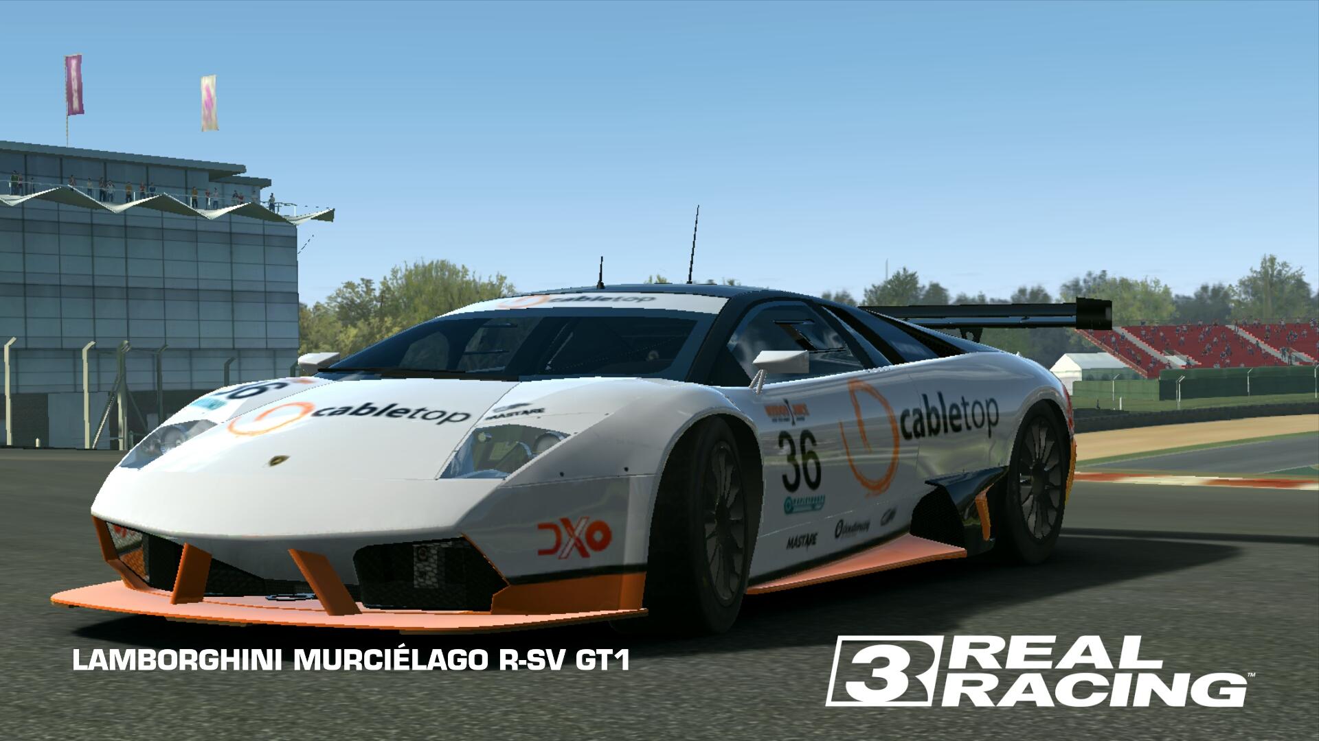 Lamborghini Murcielago R Sv Gt1 Real Racing 3 Wiki Fandom