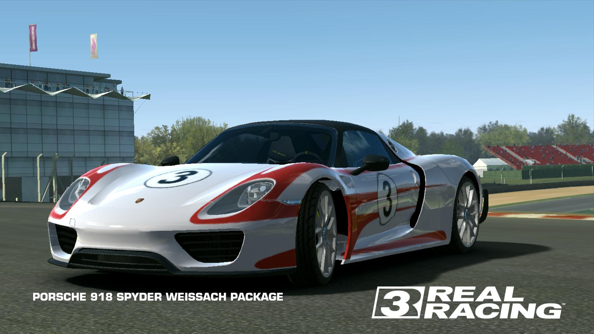 Porsche 918 Spyder Weissach Package Real Racing 3 Wiki Fandom