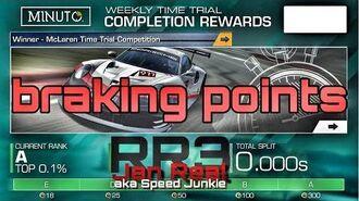 Braking points WTT Lemans Bugatti Porsche Cayman S 1 21.627 min