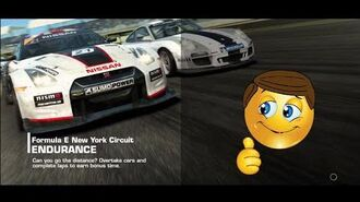 Real Racing 3 Formula E New York Circuit Race 10.2 Endurance