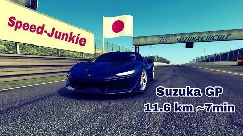 TC Distanz Suzuka Ferrari J50 11,6km=7min