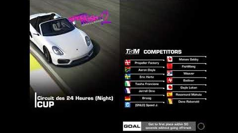 Best Race Lemans Ov. taking 12 ov 13 sec