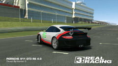 Porsche GT Racing Team No. 00 911 GT3 RS 4.0