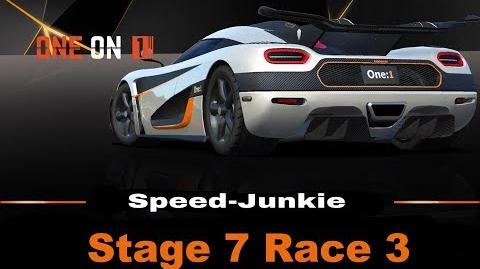 ONE on 1 Stage 7 Race 3 only R$ Upgrades