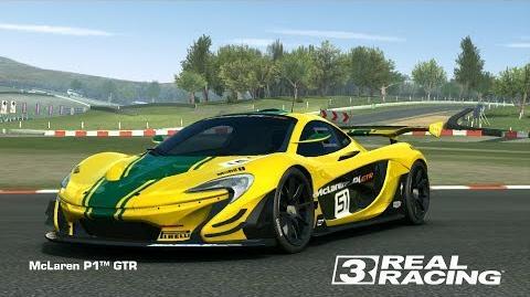 video - real racing 3 - mclaren p1 gtr - endless endurance? | real
