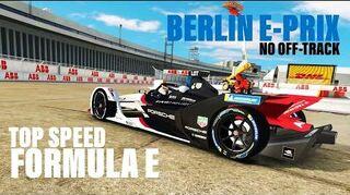 Formula E Berlin E-Prix Top Speed Challenge (Best Option)