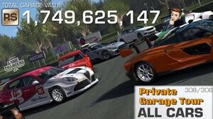 FULL Real Racing 3 Garage of ME7