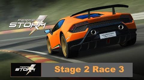 Perfect Storm Stage 2 Race 3 Lambo Huracan Perfor