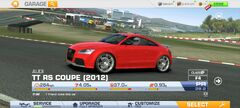 AUDI TT RS COUPE (2012) Naming Convention 2