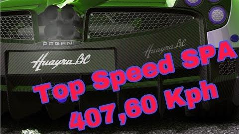 Video Pagani Top Speed Tc 407 60 Kph Spa Stage 6 Race 1 Real