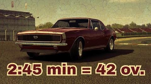 28.02 Camaro SS 67 for free!!! Best Race 2 45min = 42 ov.