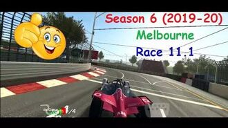 Real Racing 3 Formula E Season 6 (2019-20) Melbourne Race 11.1 PR 55.8