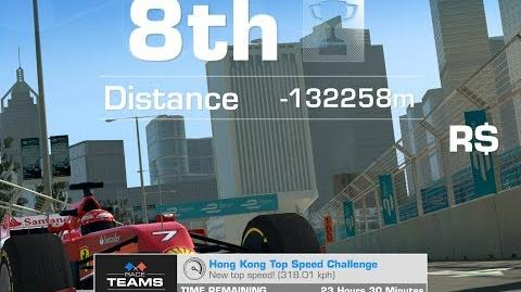 Hong Kong Top Speed 318,01 Kph Ferrari F14 T Team Challenge